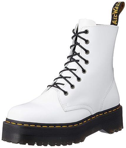 negozi popolari marchio famoso data di uscita Dr. Martens Jadon, Scarpe da Arrampicata Uomo, Bianco (White ...