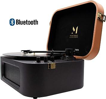 MPK TT270, Tocadiscos con Bluetooth Diseño Retro de Estilo ...