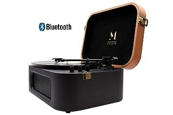 TT270B Tocadiscos con Bluetooth Diseño Retro de Estilo ...