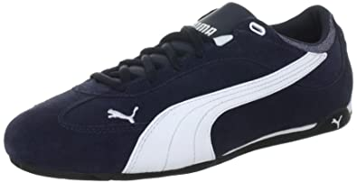ad1099bf345 Puma Men s Fast Cat Suede Trainers 304219 New Navy-White 8 UK ...