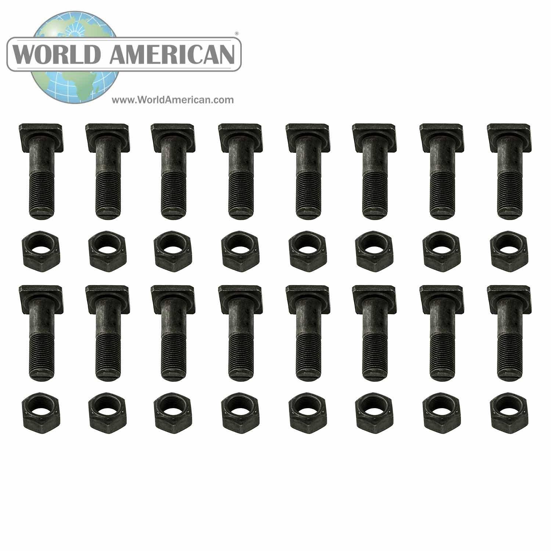 World American 70745 Bolt Kit-Eaton 5//8