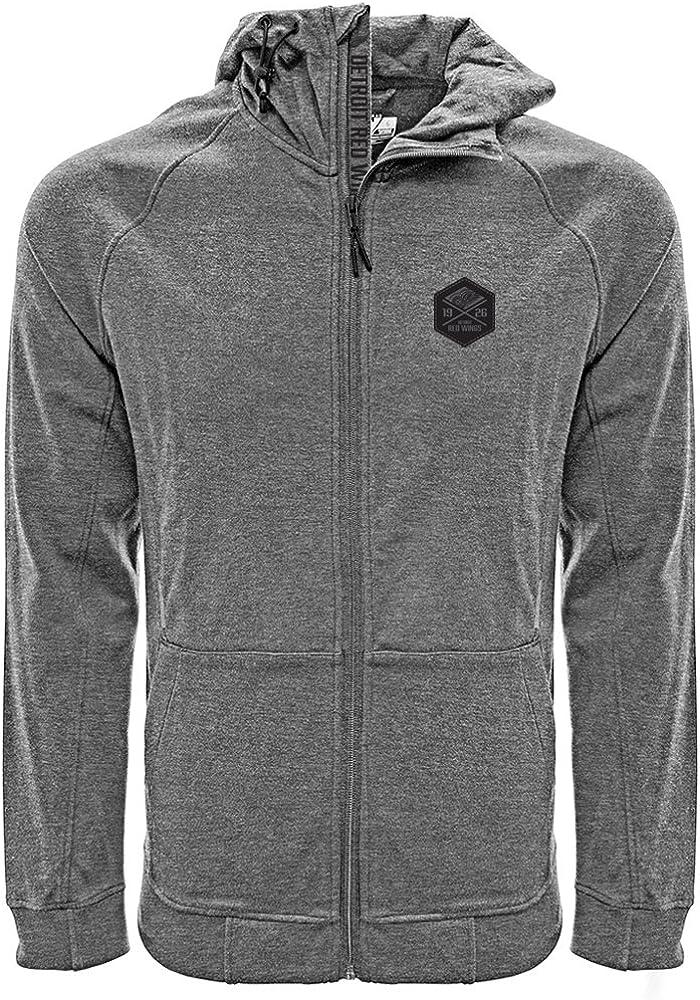 Levelwear Fortress Cross Over Full Zip Hooded Sweatshirt