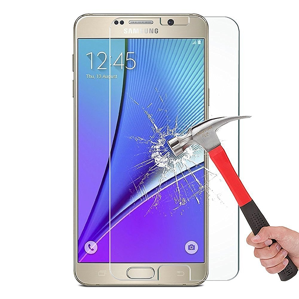 Galaxy Note 4 Screen protector, Asstar [Tempered Glass] Crystal Clear 2.5D Ultra Clear 9H Hardness Bubble Free Screen Protector for Galaxy Note 4 (1 PACK)