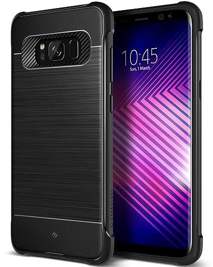 meet 78c8b 9930a Caseology Vault I for Samsung Galaxy S8 Case (2017) - Black