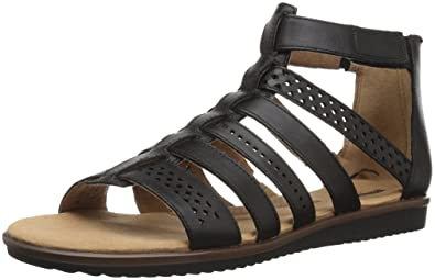 415f00c49cdd Amazon.com  CLARKS Women s Kele Lotus Gladiator Sandal  Shoes
