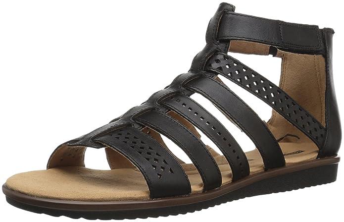 3b0e31cb9aa7 Clarks Womens Kele Lotus Sandals  Amazon.ca  Shoes   Handbags