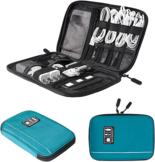 Electronics Accessories Organizer Travel Storage Hand Bag Cable USB Drive C CPUK