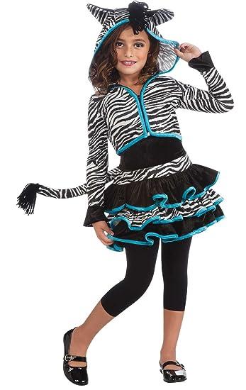 Rubies Costumes Zebra Hoodie Child Costume Black/White Large (12-14)  sc 1 st  Amazon.com & Amazon.com: Rubies Costumes Zebra Hoodie Child Costume Black/White ...