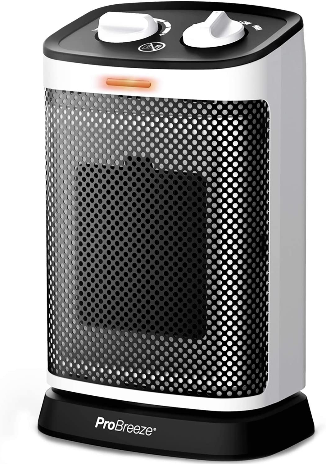 Pro Breeze Space Heater – Premium 1500W Oscillating Electric Heater, Rotates 70° with 6 Operation Modes, Adjustable Thermostat, Overheat and Tip-over Protection for Home, Office, Bedroom and Desk