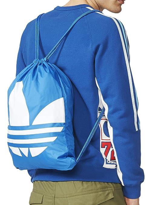 15fe95ef28 adidas Gymsack Trefoil - Borsa, Unisex, Blu/Bianco: Amazon.it: Sport ...