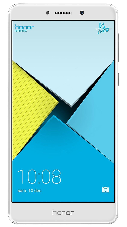 Honor X Smartphone libre de  lector de huellas GB RAM GB