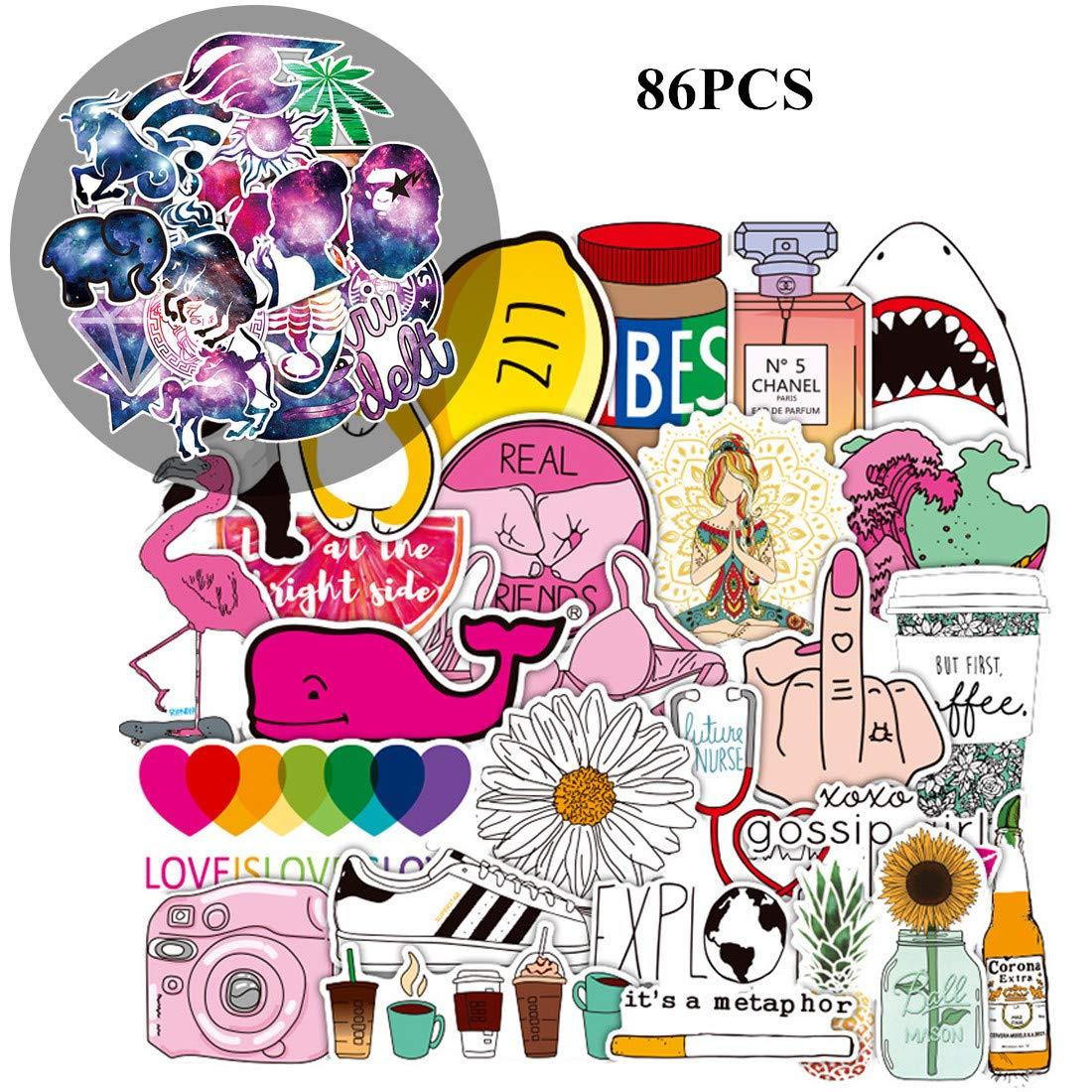 Stickers Calcos 86 un. Surtidos Origen U.S.A. (7SXFLZXR)