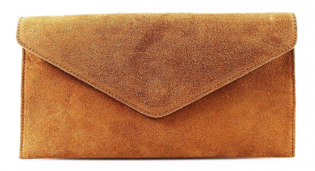 6befaba58bd0 Large Envelope Shaped Genuine Italian Suede Clutch bag Evening bag Party bag  Wrist bag Shoulder bag Underarm bag Verapelle Genuine Suede Leather bag