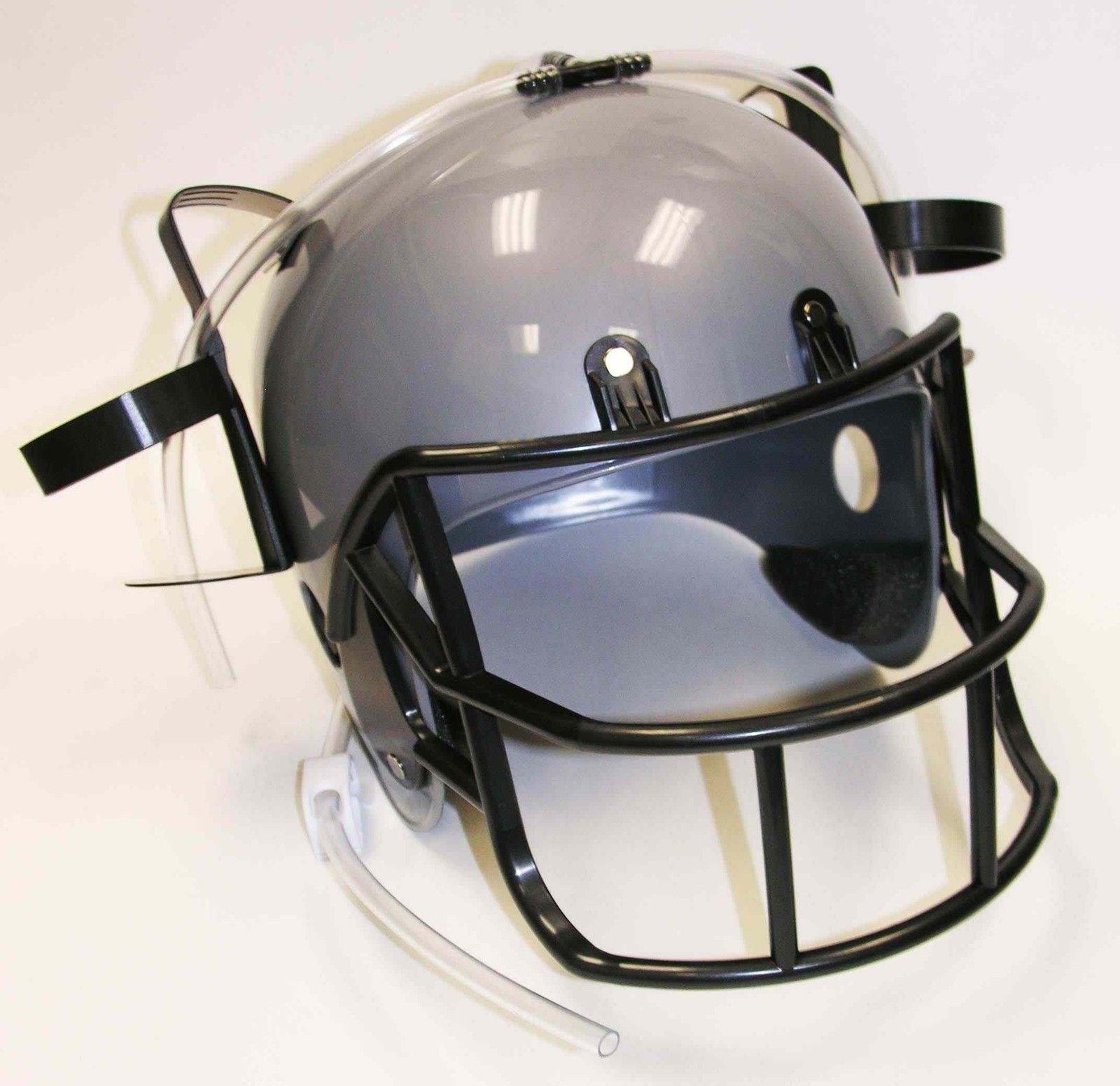 Football Drinking Helmet - Silver Novelty Item by Forum Novelties (Image #3)