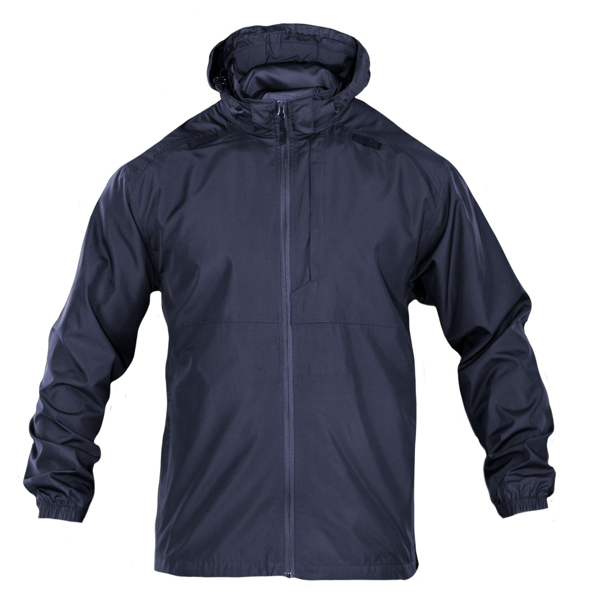 5.11 Tactical Men's Packable Operator Jacket, Dark Navy, Large