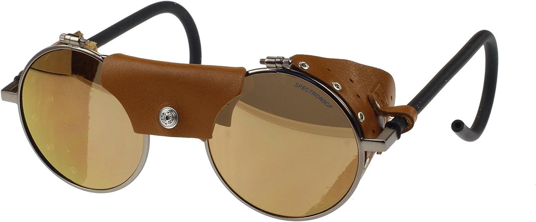 Julbo Vermont Sunglasses Re Brass Brown Leather Polycarbonate Lens Category 3 Sport Freizeit