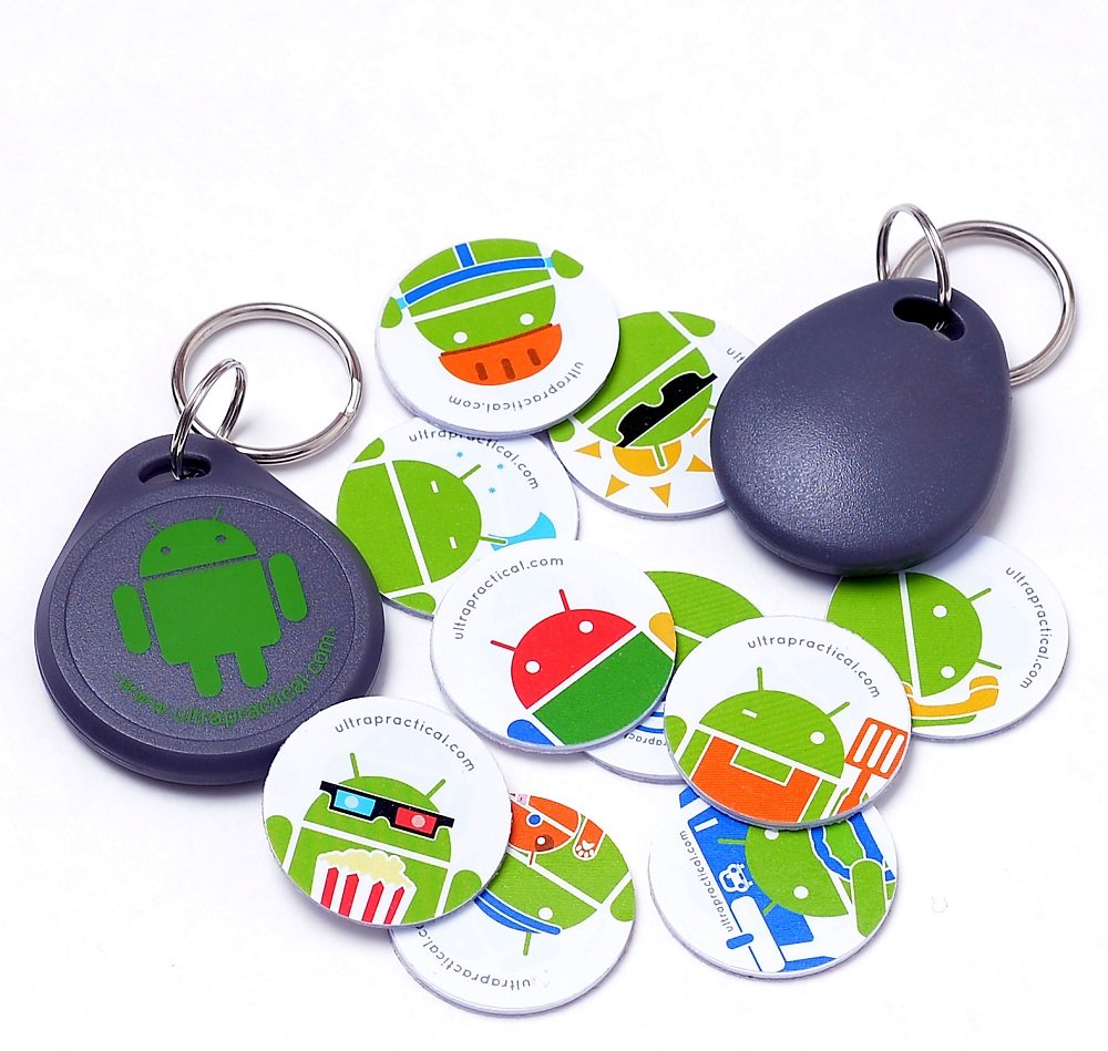 Amazon com: TagsForDroid - 12 NFC Pack - NTAG203 - Android