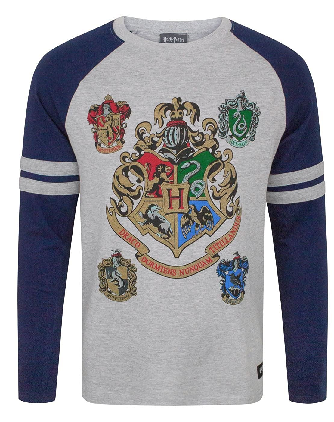 Harry Potter Hogwarts Men's Raglan Top