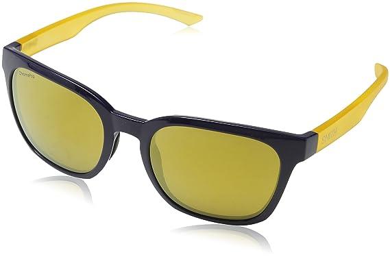 Smith Unisex-Erwachsene Sonnenbrille Founder QE Dcd, Bluette Yellow/Bw Brown, 55