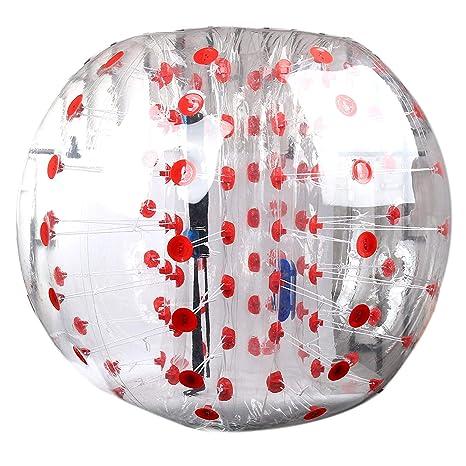 Yaekoo Bubble Pelotas de fútbol de diámetro 5, 1,5 m burbuja ...