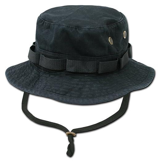 a2b1b7599e Amazon.com  Rapid Dominance Genuine Military Boonie Hats-Black ...