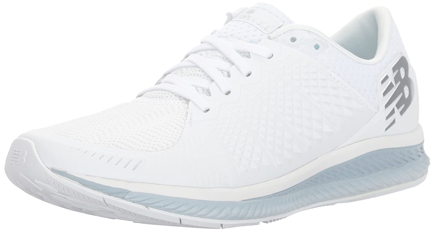New Balance Women's FuelCell Running Shoe B01NBA2O88 6.5 D US|White/Grey