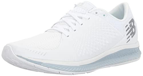 New Balance Womens Fuelcell Running-Shoes, White/Grey, ...