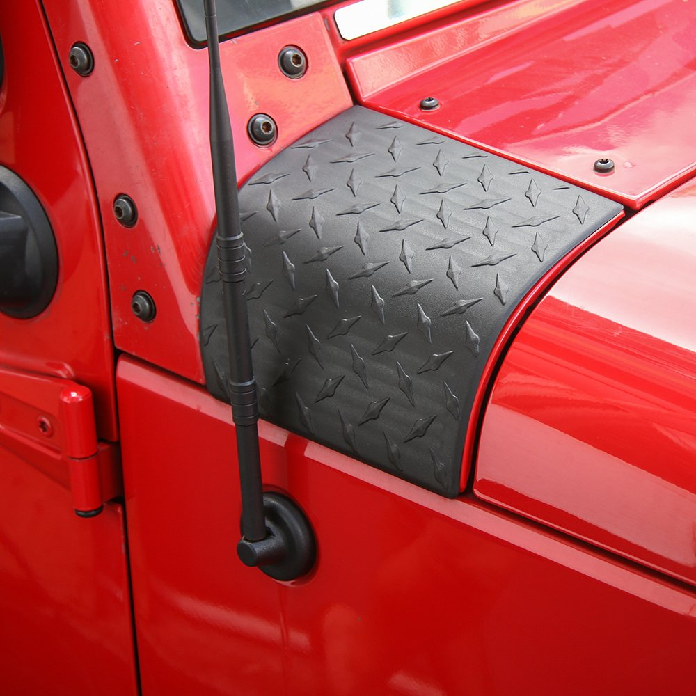Jecar Cowl Body Armor Off Road Sport Exterior Accessories Parts For Jeep Wrangler Jk Unlimited