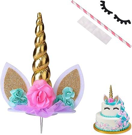 Amazon.com: COONOE - Decoración para tartas con pestañas ...