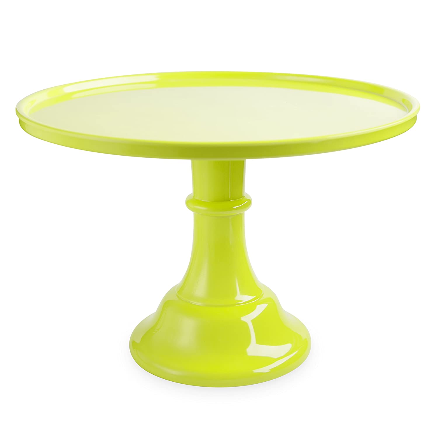 Cakewalk 6849 Green Melamine Cake Stands, One Size