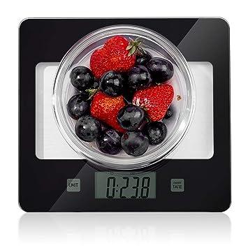 CUSIBOX Básculas De Cocina Digitales Básculas De Alimentos 1-5000 Gramos Básculas De Pesaje De