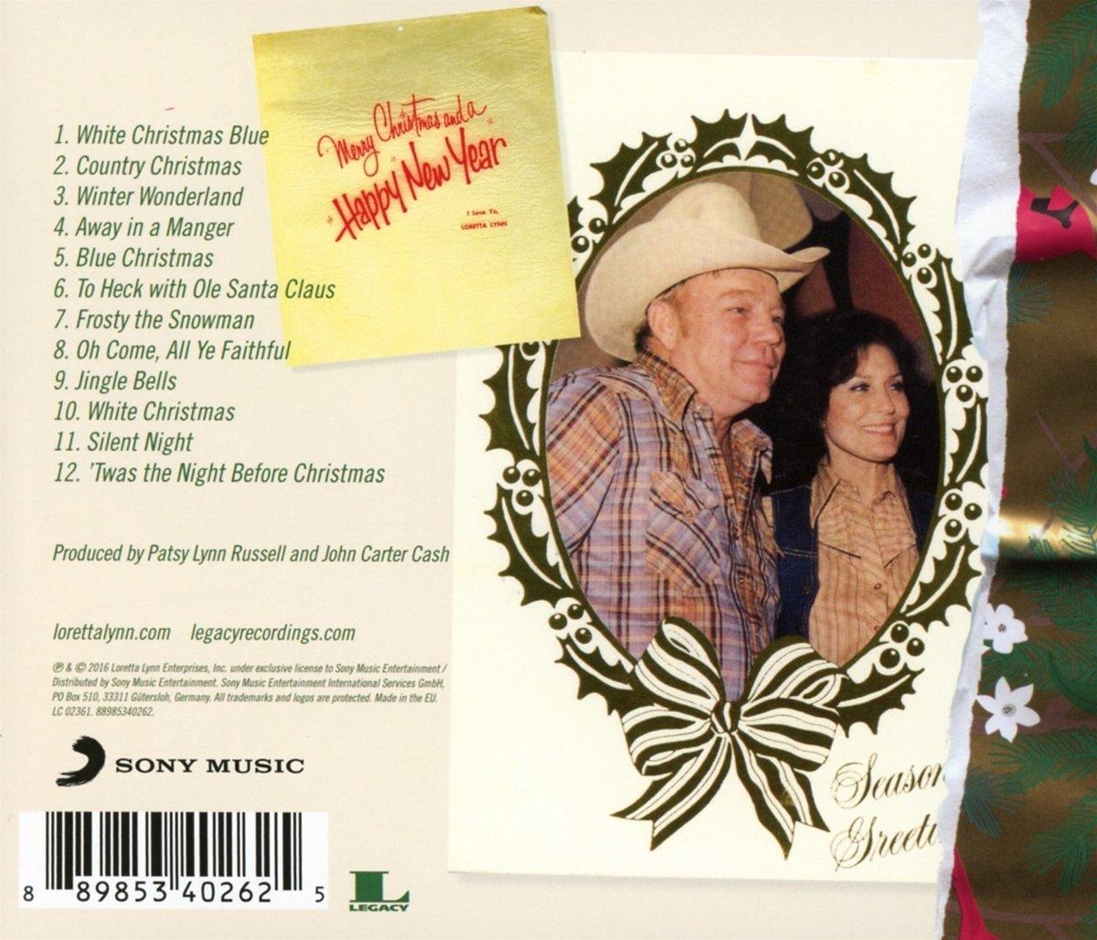 loretta lynn white christmas blue amazoncom music - What Year Did White Christmas Come Out