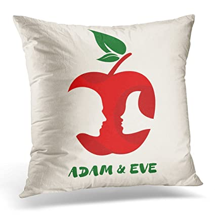Amazon Duplins Red Man Apple Symbol With Adam Eves Portraits