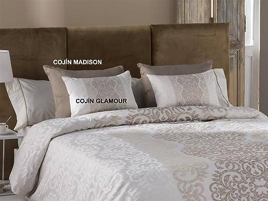 Tejidos JVR - Cojín Glamour 30x50 cm - Color Oro sin Relleno