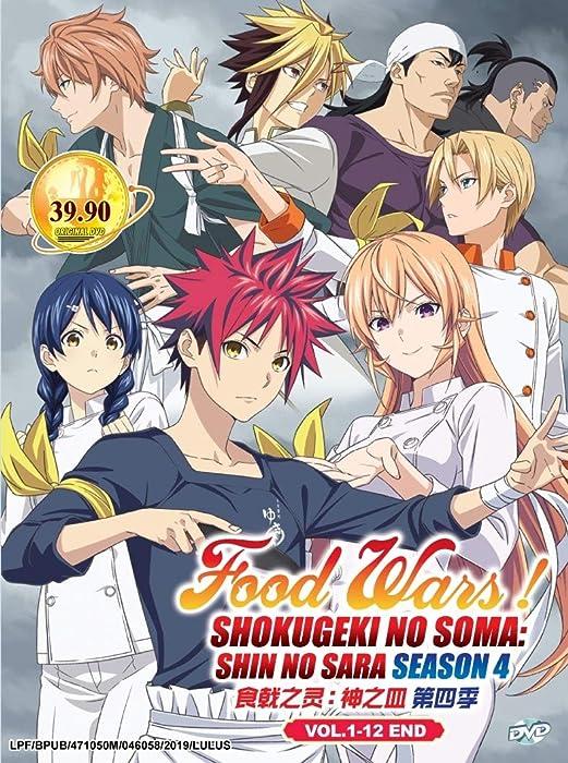 The Best Food Wars Shokugeki No Soma Dvd