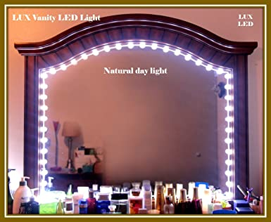 Hollywood style vanity mirror lights makeup mirror lights anti glare hollywood style vanity mirror lights makeup mirror lights anti glare luxurious led lights for vanity mirror wtouch dimmer switch all in one kit set 33pcs aloadofball Images