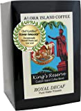 Water Process Decaf Senseo Pods, Our Kings Reserve Royal Decaf Coffee Pods for all Soft Coffee Pod Brewers, Box of 18 Pods, Reusable Adapter is Available for Keurig K-cup Brewing Systems