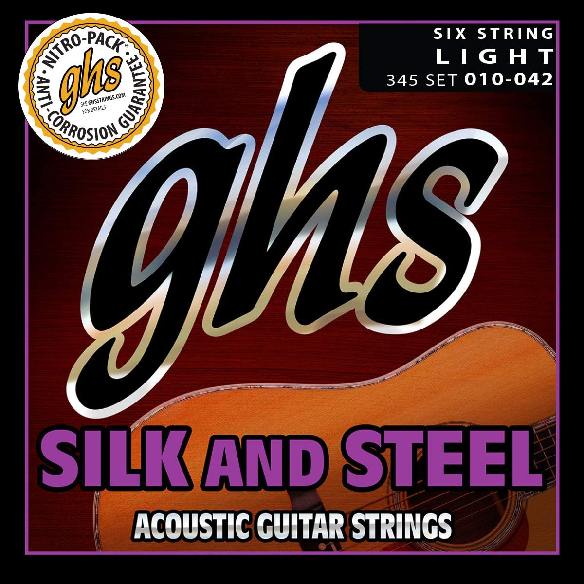 GHS Silk and Steel 345 10-42