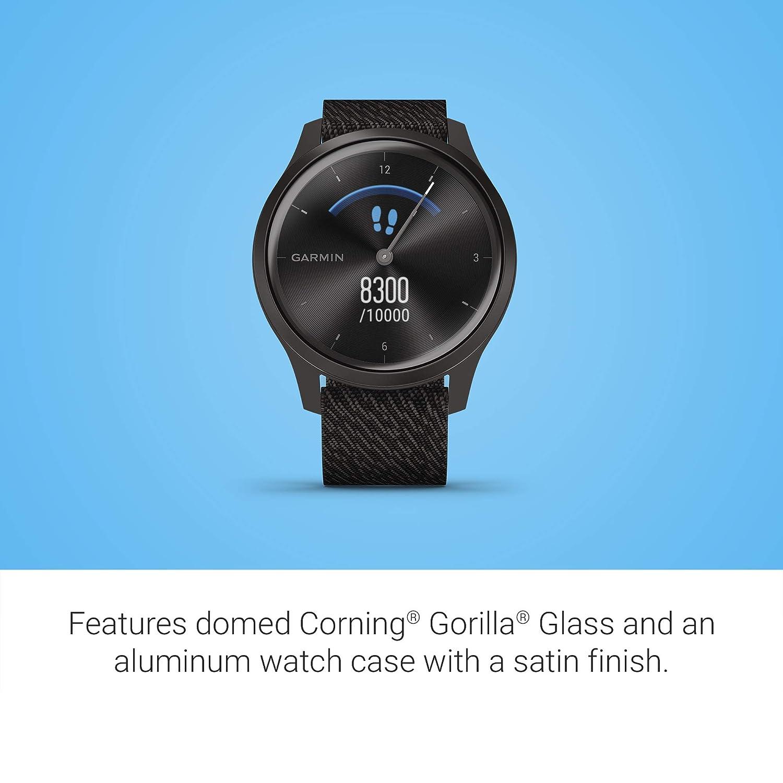 Garmin Vívomove 3 Classic- Reloj inteligente, color negro