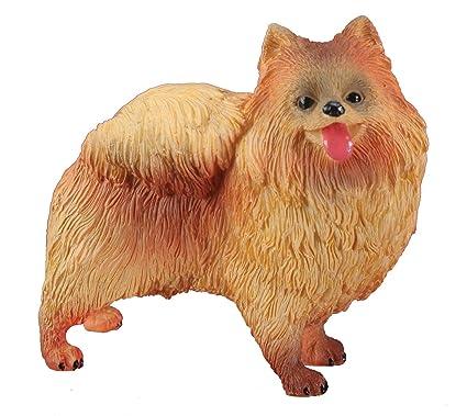 Amazoncom Pomeranian Dog Collectible Statue Figurine Figure