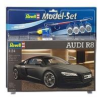 Revell Model Set - 67057 -  Maquette de la Super Car Audi R8 - Echelle 1/24