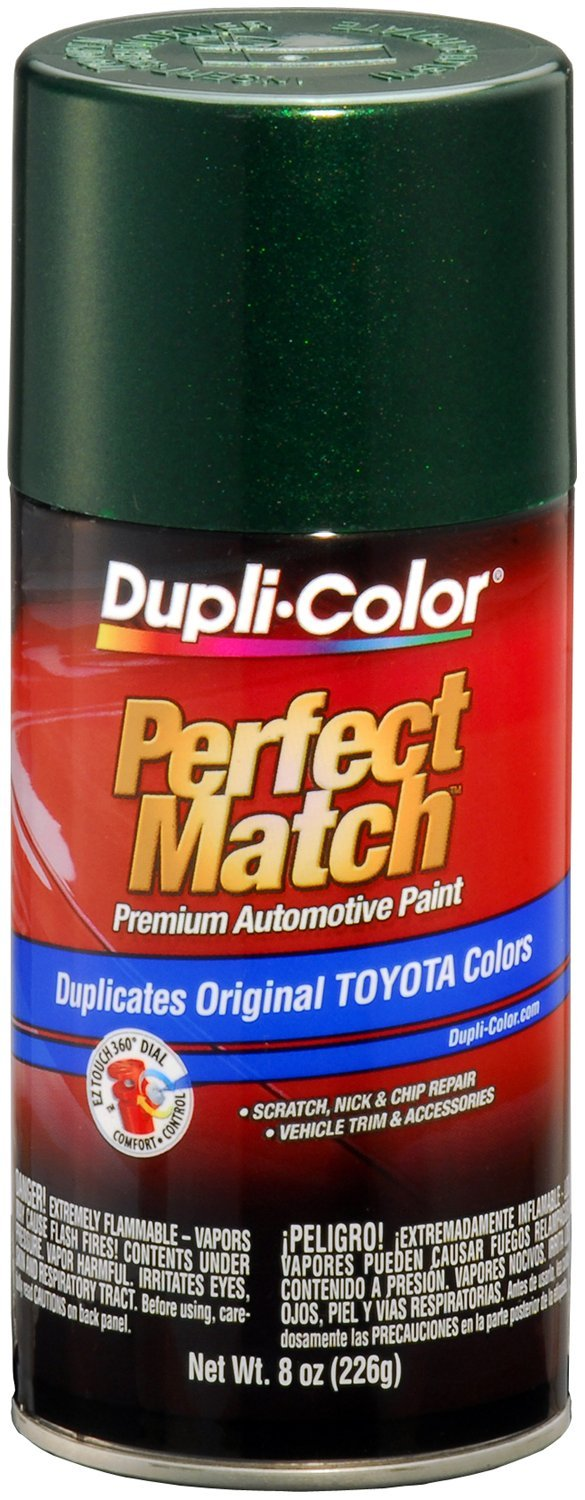 Dark green car paint colors - Amazon Com Dupli Color Bty1603 Dark Green Mica Toyota Exact Match Automotive Paint 8 Oz Aerosol Automotive