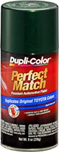 Dupli-Color BTY1603 Dark Green Mica Toyota Exact-Match Automotive Paint - 8 oz. Aerosol