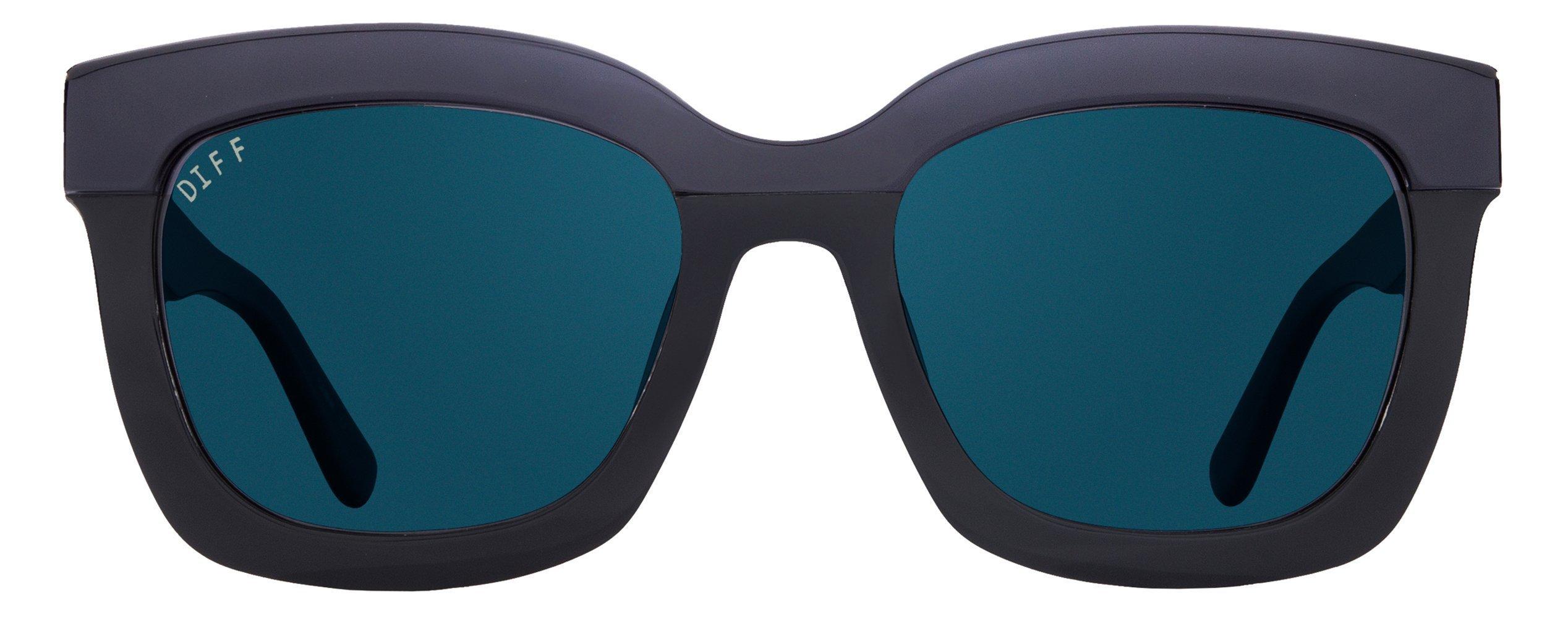 e35a5286914 Details about Diff Eyewear  Carson - Designer Square Sunglasses - 100% UVA  UVB