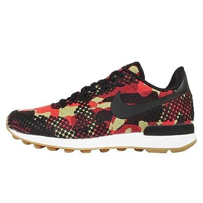 Nike Women's Wmns Internationalist JCRD PRM, BLACK/BLACK-BRIGHT CITRON-SAIL,