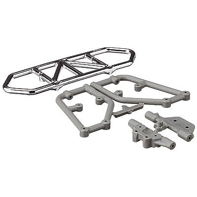 RPM Traxxas Slash 4x4 Rear Bumper, Chrome: Toys & Games