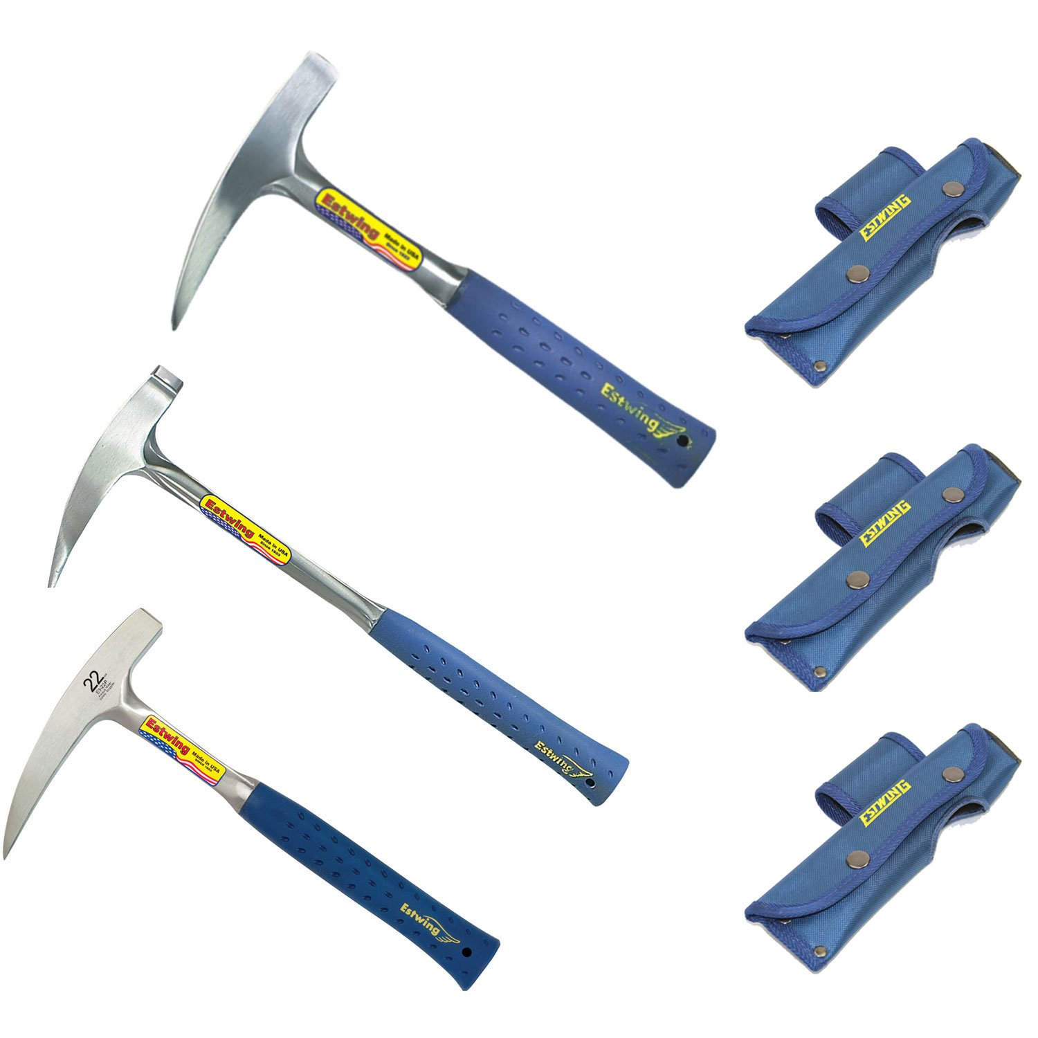 Estwing E3-22P Rock Pick, E3-14P Rock Pick, E3-23LP Long Handled Rock Pick by Estwing Mfg. Company