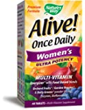 Natures Way Alive! Once Daily Womens Ultra Potency (60 Tablets)