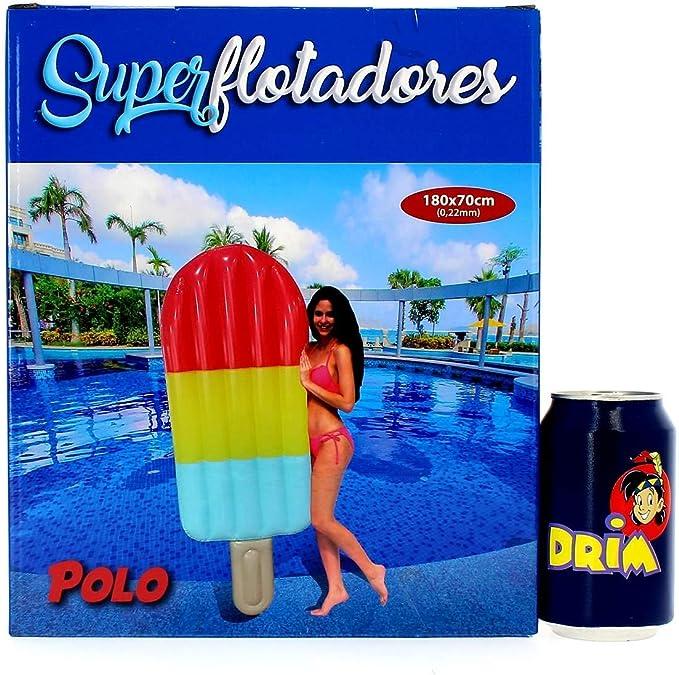 COLCHONETA POLO HINCHABLE 180cm X 70cm(F0031): Amazon.es: Juguetes ...