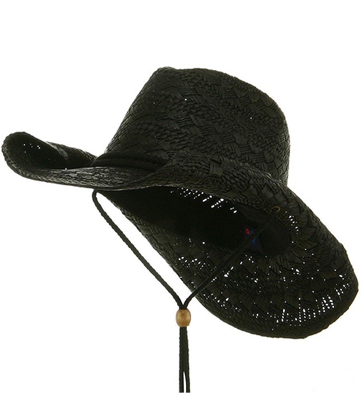 96237a0a76f Greg Bourdy Womens Straw Cowboy Hats Amazon